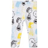 Tobias & The Bear White and Multi Coloured Peanuts Characters Leggings