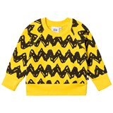 Tobias & The Bear Mustard Yellow Charlie Brown Loopback Sweatshirt