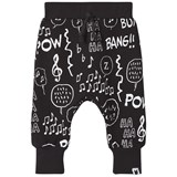 Tobias & The Bear Black Notes Loopback Joggers