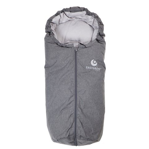 Easygrow Grey Mini Footmuff with Car Seat Bag