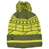Patagonia K´s Powder Town Beanie Geo Lines: Glades Green
