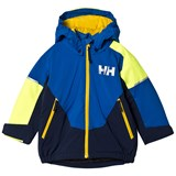 Helly Hansen Blue Colour Block Rider Ins Jacket