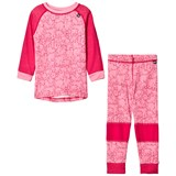 Helly Hansen Pink HH Merino Base Layer Set