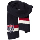Ralph Lauren Navy and Red Grey Scarf