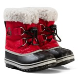 Sorel Rocket Red Childrens Yoot Pac Nylon Boots