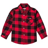 The BRAND Red Checked Flannel Shirt