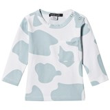 Little LuWi Blue Cow Print Long Sleeve T-shirt