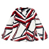 Tommy Hilfiger Global Stripe Faux Fur Jacket