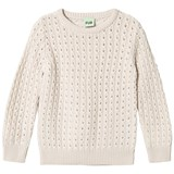 FUB Cable Sweater Ecru