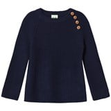 FUB Rib Sweater Navy