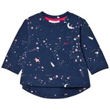 Livly Blue Outer Space Long Sleeve T-Shirt