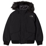 The North Face Black Gotham Down Faux Fur Hooded Jacket