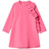 Il Gufo Fuchsia Frill Detail Milano Dress