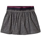 United Colors of Benetton Grey Jersey Skirt With Micro Shiny Star Print