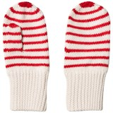 FUB Red Striped Mittens