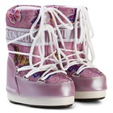 Moon Boot Mb Jr Butterfly Lilac