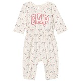 Gap Ivory Frost Floral One-Piece