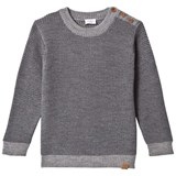 Hust&Claire Sweater Antracite Melange