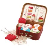 Moulin Roty Red Sewing Kit