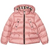Burberry Pink Bronwyn Hooded Quilted Down Jacket
