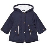 Cyrillus Navy 3 in 1 Hooded Jacket and Gilet