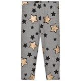 So Twee Grey Glitter Star Print Leggings