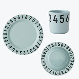 Design Letters Melamine The numbers gift set