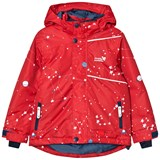 Muddy Puddles Red Interstellar Blizzard Ski Jacket