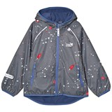 Muddy Puddles Dark Grey Interstellar Ecosplash Hooded Jacket