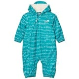 Muddy Puddles Pale Green and White Field  3 in 1 Scamp Hooded Snowsuit