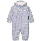 Muddy Puddles Grey and White Field 3 in 1 Scamp Hooded Snowsuit
