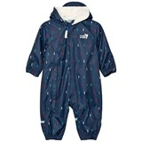 Muddy Puddles Navy Multi Raindrop 3 in 1 Scamp Snowsuit