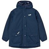 Muddy Puddles Navy Strom Explorer Hooded Jacket