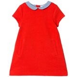 Cyrillus Red Short Sleeve Dress