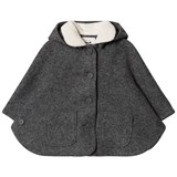 Cyrillus Dark Grey Hooded Cape