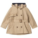 Cyrillus Beige Hooded Trench