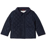 Cyrillus Navy Quilted Jacket