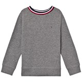 Tommy Hilfiger Grey Branded Jumper
