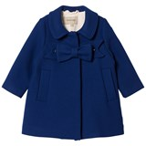 Hucklebones Cobalt Blue Bow Coat