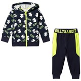 Billybandit Navy and Yellow Alien Print Tracksuit
