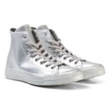 Converse Silver Junior Chuck Taylor All Star Hi-Tops
