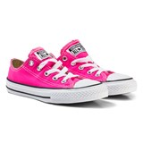 Converse Pink and White Kids Chuck Taylor All Star - OX