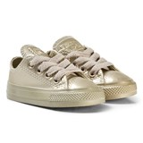 Converse Gold Infants Chuck Taylor All Star Metallic Leather - OX