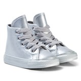 Converse Silver Infants Chuck Taylor All Star - Hi