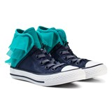 Converse Navy and Blue Kids Chuck Taylor All Star Block Party