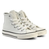 Converse White and Black Kids Chuck Taylor All Star - Hi