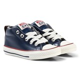 Converse Navy Kids Chuck Taylor All Star Street - Mid