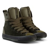 Converse Beige and Black Kids Chuck Taylor All Star Asphalt Boot - Hi