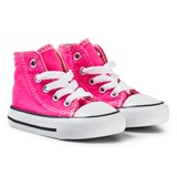 Converse Pink and White Infants Chuck Taylor All Star - Hi