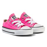Converse Pink and White Infants Chuck Taylor All Star - OX